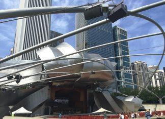 Jay Pritzker Pavilion ชิคาโก